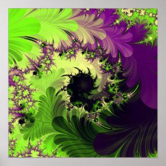 """S.I. Poster del arte del fractal de la """"persuasión"""
