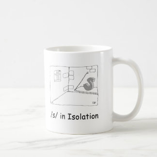 S in Isolation Coffee Mug