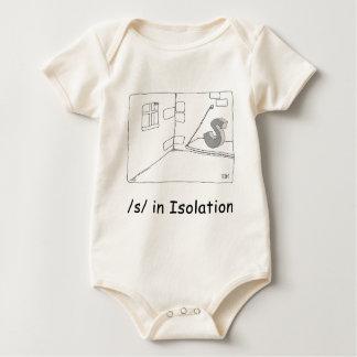 S in Isolation Romper