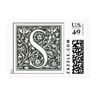 S initial stamp