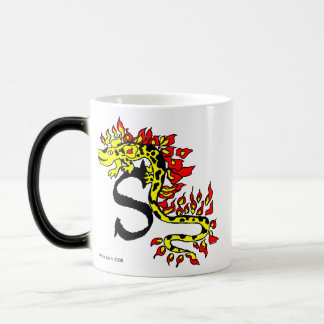S is for Salamander Coffee Mugs