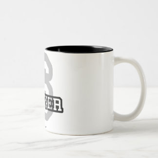 S is for Sawyer Two-Tone Coffee Mug