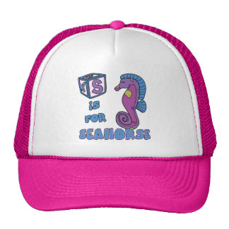S is for Seahorse Hat