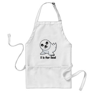 S is for Seal Aprons