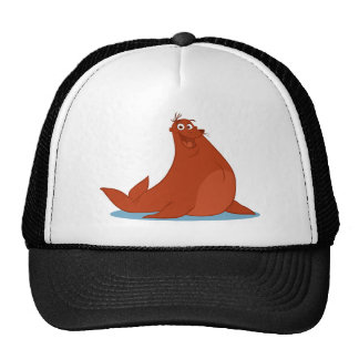 S is for Seal Trucker Hat