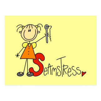 S is for Seamstress Postcard