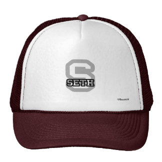 S is for Seth Trucker Hat
