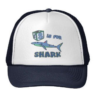S is for Shark Hat
