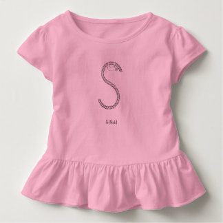 S is for Sloth Toddler T-shirt