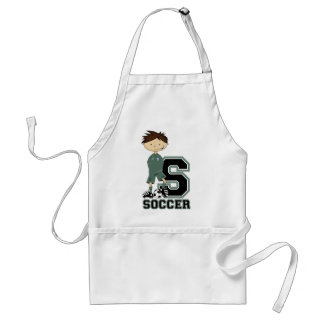 S is for Soccer Adult Apron