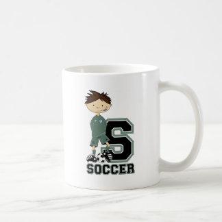 S is for Soccer Coffee Mug