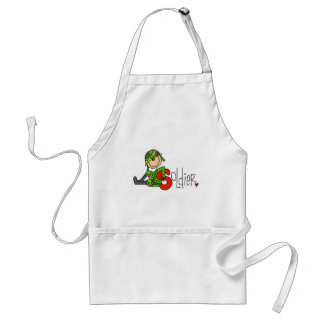 S is for Soldier Adult Apron
