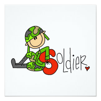 S is for Soldier Invites