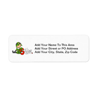 S is for Soldier Return Address Labels