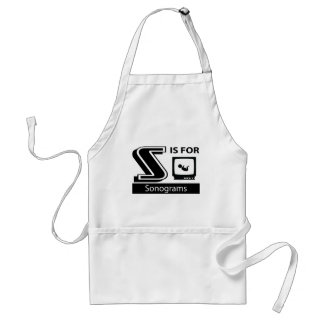 S Is For Sonograms Adult Apron