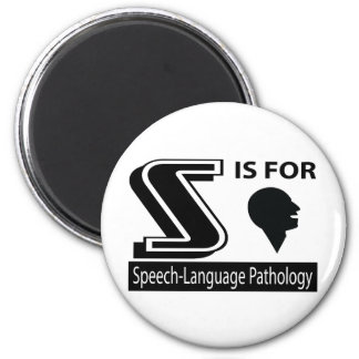 S Is For Speech-Language Pathology Fridge Magnet