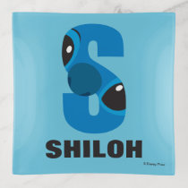 S is for Stitch | Add Your Name Trinket Trays
