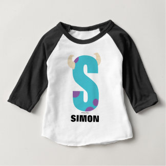 S is for Sulley   Add Your Name Baby T-Shirt