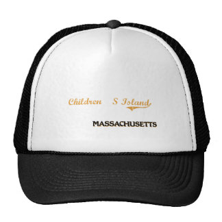 S Island Massachusetts Classic Trucker Hat
