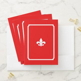 S.K. Paris Le Fleur Pocket Folder