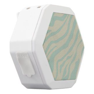 S.K. Zebra Fever Boombot White Bluetooth Speaker