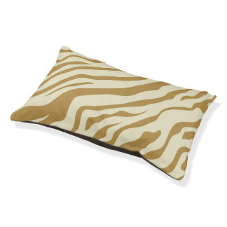 S.K. Zebra Fever Doggie Sleeper Pet Bed