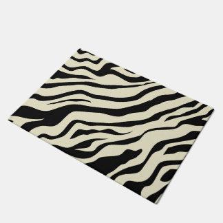S.K. Zebra Fever Door Mat