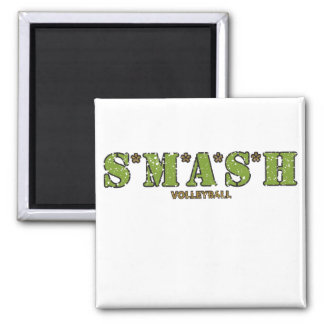 S*M*A*S*H Volleyball Magnet