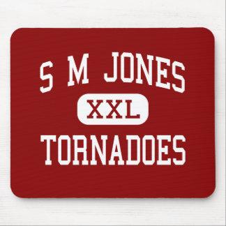 S M Jones - Tornadoes - Middle - Laurel Mouse Pads