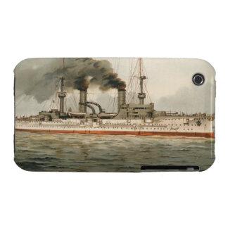 "S.M. Kreuzer ""Furst Bismarck"" de Grosse (H.M. Grea iPhone 3 Case-Mate Carcasa"