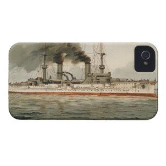 """S.M. Kreuzer """"Furst Bismarck"""" de Grosse (H.M. Grea Case-Mate iPhone 4 Cárcasa"""