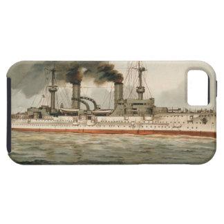 """S.M. Kreuzer """"Furst Bismarck"""" de Grosse (H.M. Grea iPhone 5 Case-Mate Fundas"""