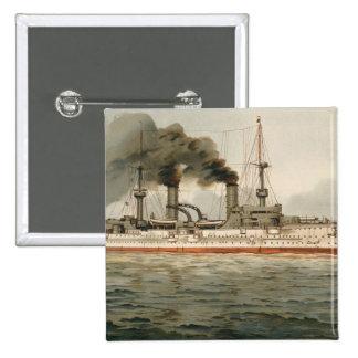 "S.M. Kreuzer ""Furst Bismarck"" de Grosse (H.M. Grea Pins"