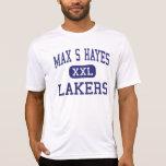 S máximo Hayes - Lakers - de formación profesional Camiseta