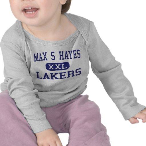 S máximo Hayes - Lakers - de formación profesional Camisetas