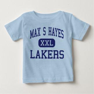 S máximo Hayes - Lakers - de formación profesional Polera