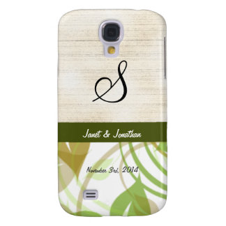S Monogram with an Abstract Floral HTC Vivid Case