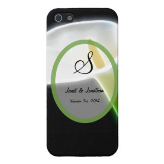 S Monogram with an Elegant Calla iPhone 5 Case