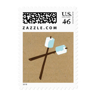 S more Camping Marshmellow Party Postage