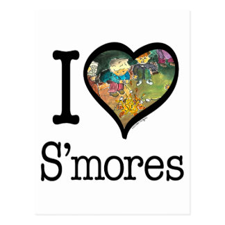 S mores Lover Post Card