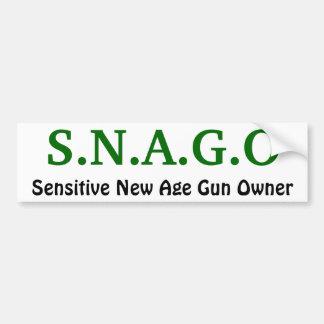 S.N.A.G.O, nuevo dueño de arma sensible de la edad Pegatina Para Auto