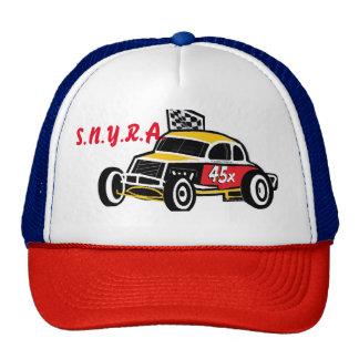 S.N.Y.R.A. Logo Truckers Hat Danbury Racearena
