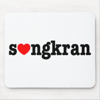 s❤ngkran ~ Heart (Love) Songkran Mouse Pad