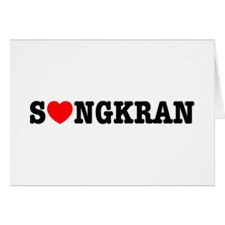 S❤NGKRAN ~ Heart Songkran Card