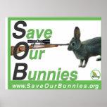 S.O.B. Reserva del poster nuestros conejitos