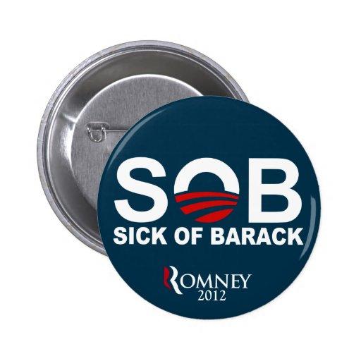 S.O.B. - Sick of Barack Button