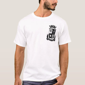 S.O.C. Shield on white T-Shirt
