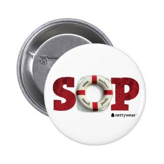 S O P ahorran el pequeño botón de las piscinas de Pin