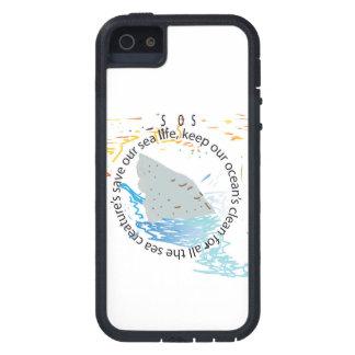 S.o.s: ahorre nuestro mar iPhone 5 carcasas