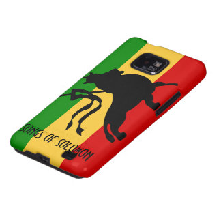 S O S Lion OF Judah Galaxy S2 Cases